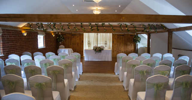 Ceremony Room Layout in The Maltings