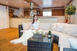 Bride in The Gallery Bar