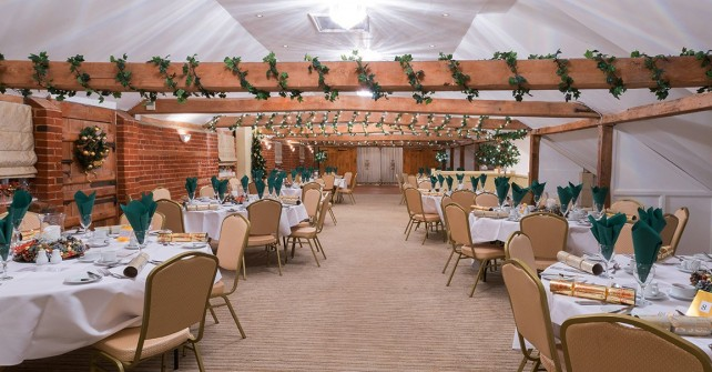 Christmas Party Venue | The Venue at Kersey Mill